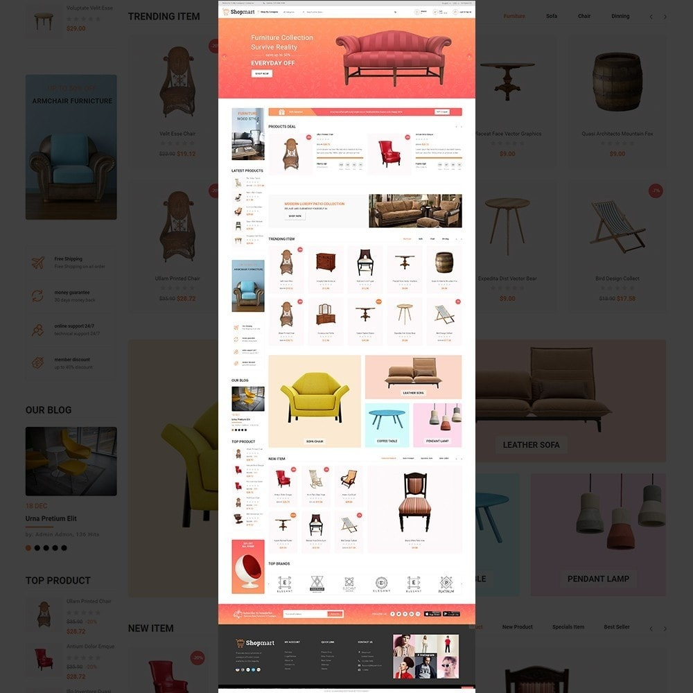 theme - Heim & Garten - Shopmart - multipurpose furniture store template - 2