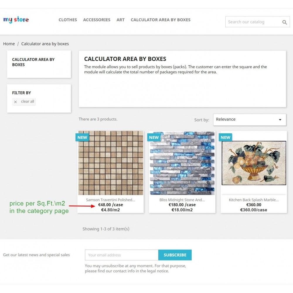 module - Размеры - Продажа коробками (упаковками) - 1