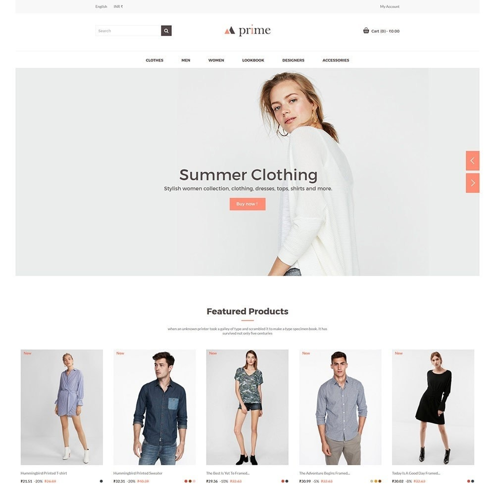 theme - Fashion & Shoes - Prime Women - Fashion Store - 3