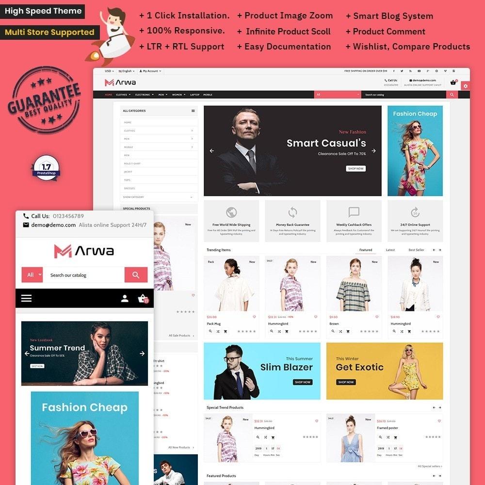 theme - Fashion & Shoes - Marwa Fashion – Xmas Big Fashion Mall - 1