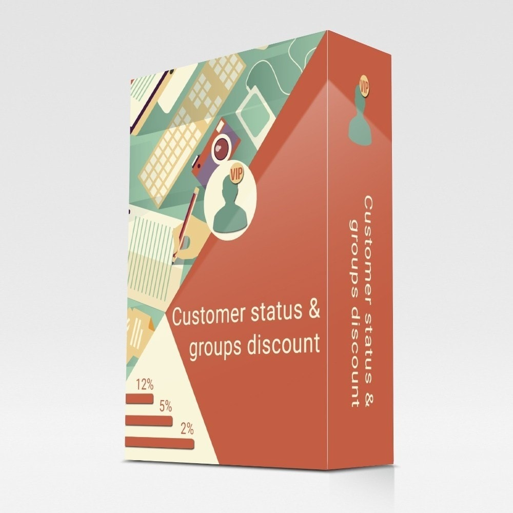 module - Fidelização & Apadrinhamento - Customer status and groups discount - 1