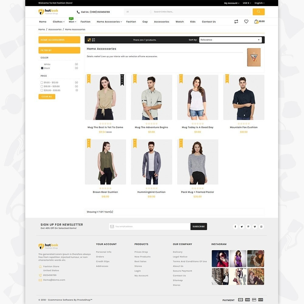 theme - Fashion & Shoes - HotLook - The Fashion Shop - 3