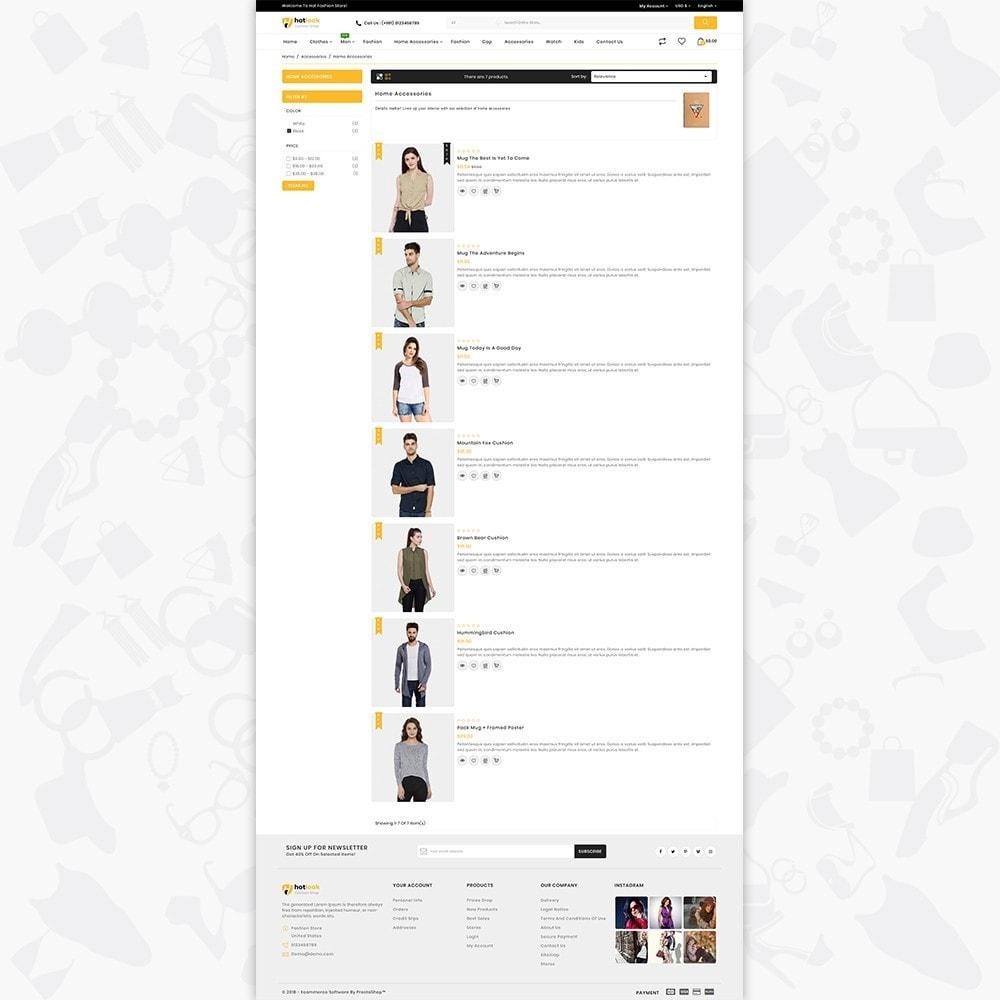 theme - Fashion & Shoes - HotLook - The Fashion Shop - 4
