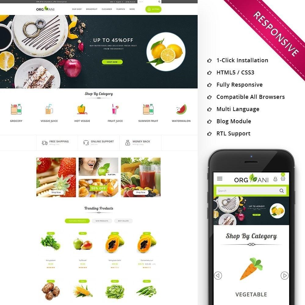 theme - Продовольствие и рестораны - Organi - The Retailer Shop - 1