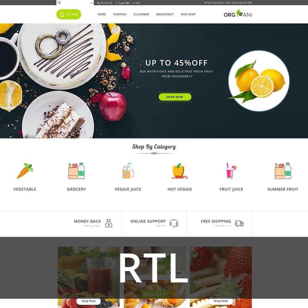 theme - Food & Restaurant - Organi - The Retailer Shop - 3