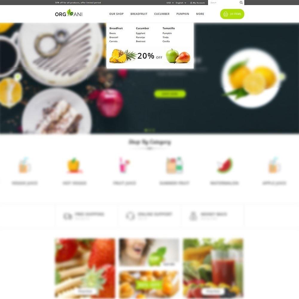 theme - Food & Restaurant - Organi - The Retailer Shop - 8