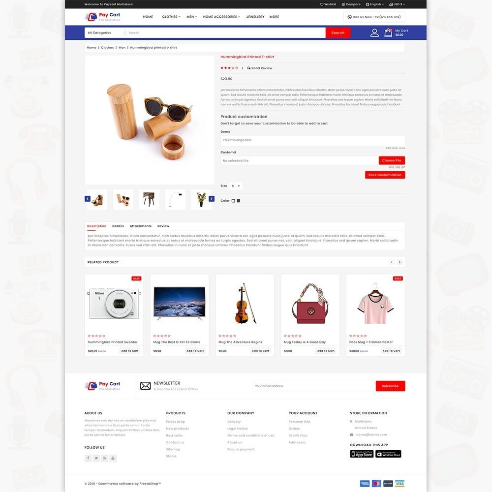 theme - Electronics & Computers - ShopCloud - The Electronics Store - 5