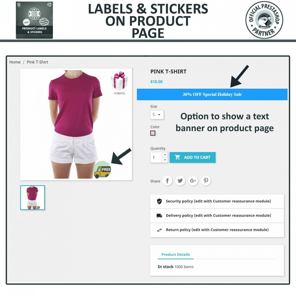 module - Badges & Logos - Product Labels & Stickers - 5