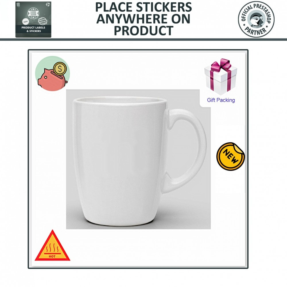 module - Badges & Logos - Product Labels & Stickers - 6