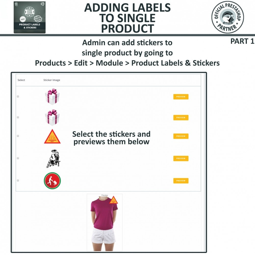 module - Badges & Logos - Product Labels & Stickers - 16