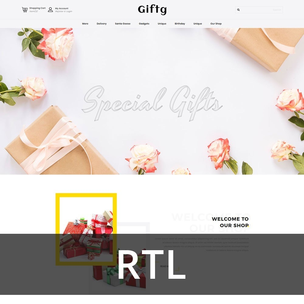 theme - Gifts, Flowers & Celebrations - Giftg - The Gift Shop - 3
