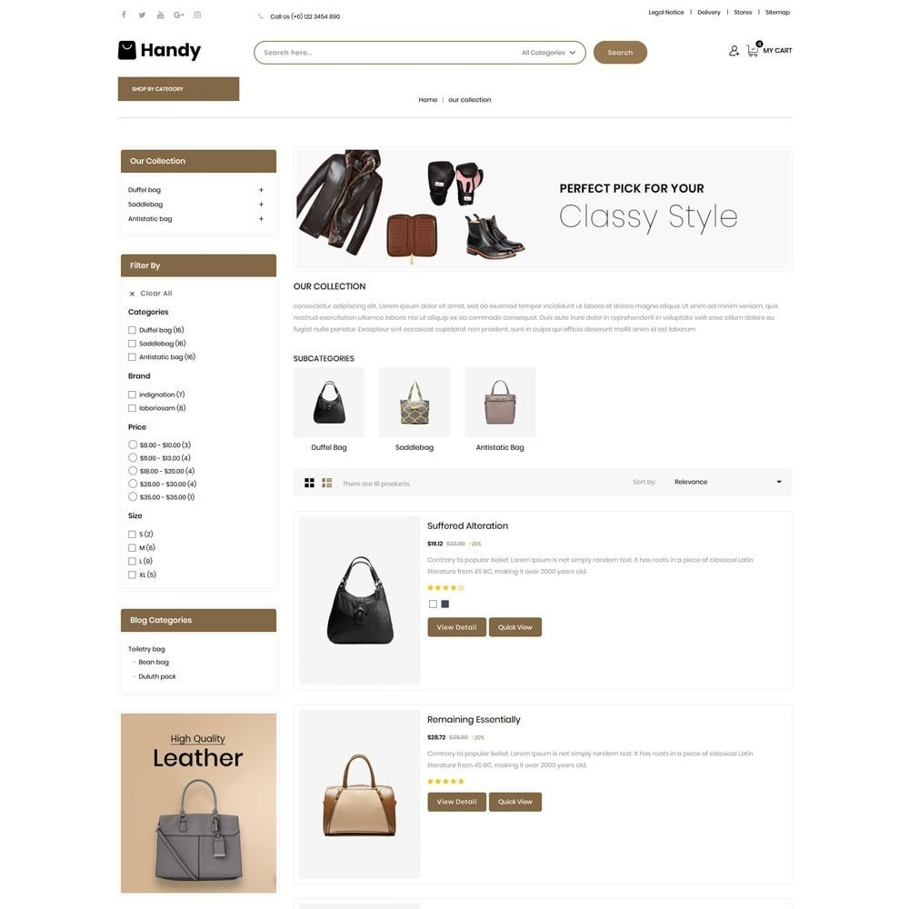 theme - Mode & Schuhe - Handy Bag - The Bag Store - 5
