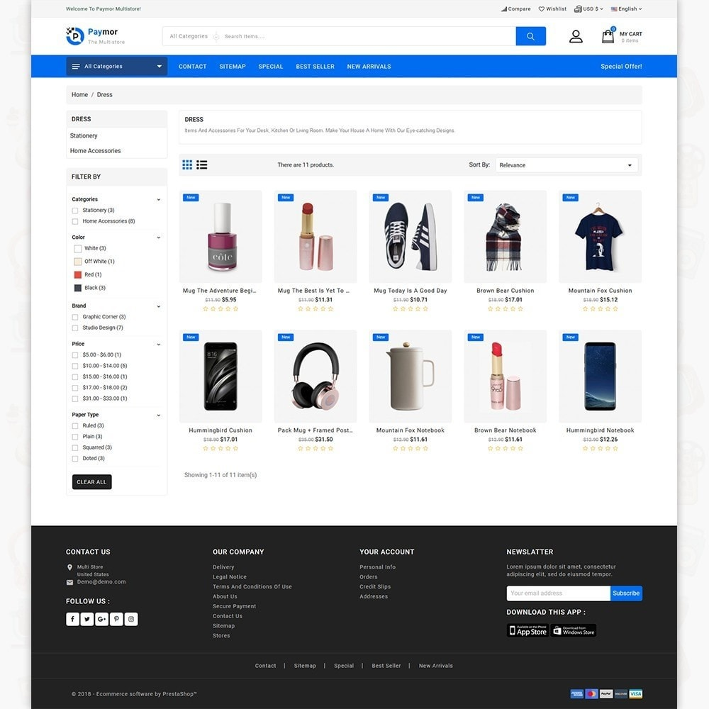 theme - Electronics & Computers - PayMore - Mega Ecommerce Store - 6