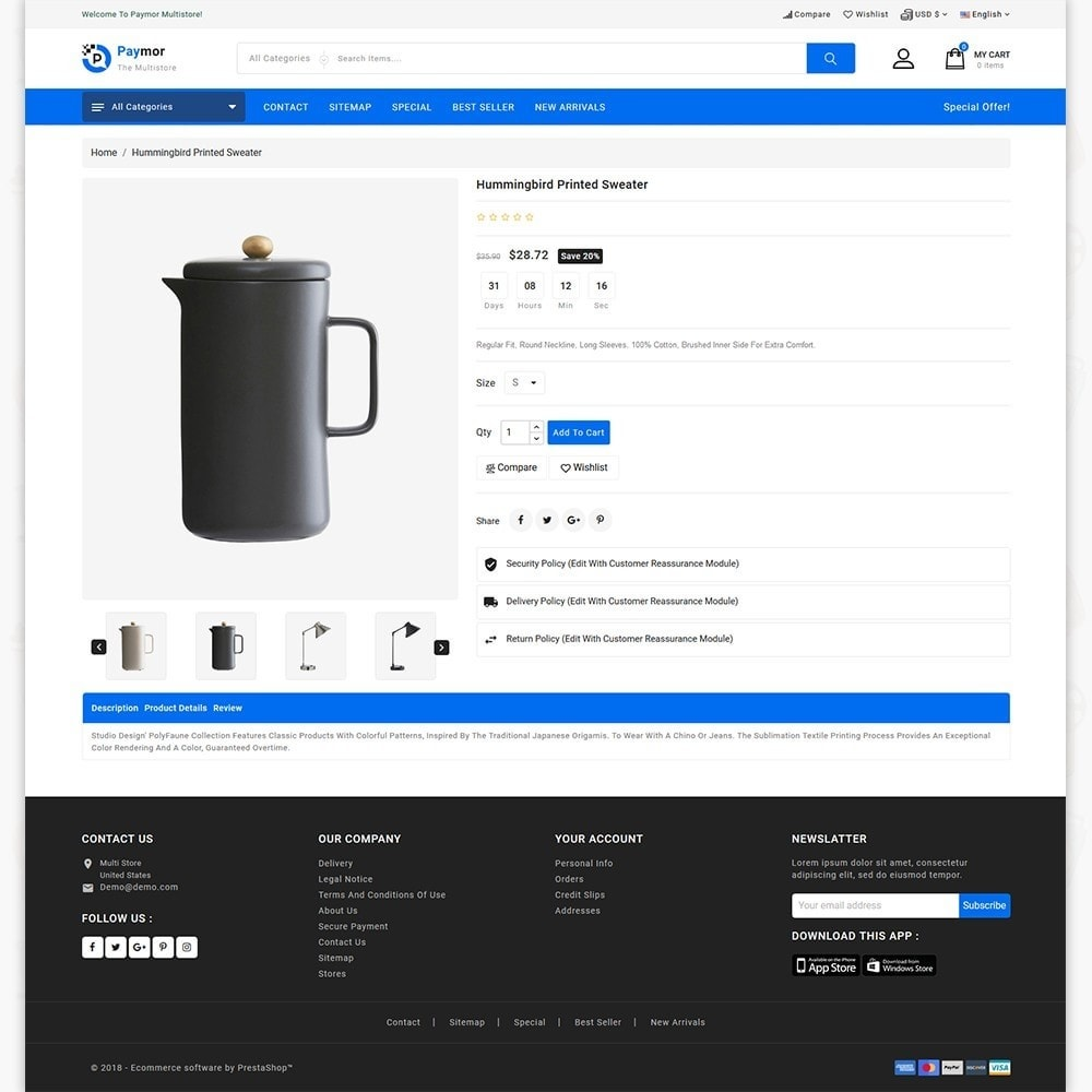 theme - Electronics & Computers - PayMore - Mega Ecommerce Store - 5