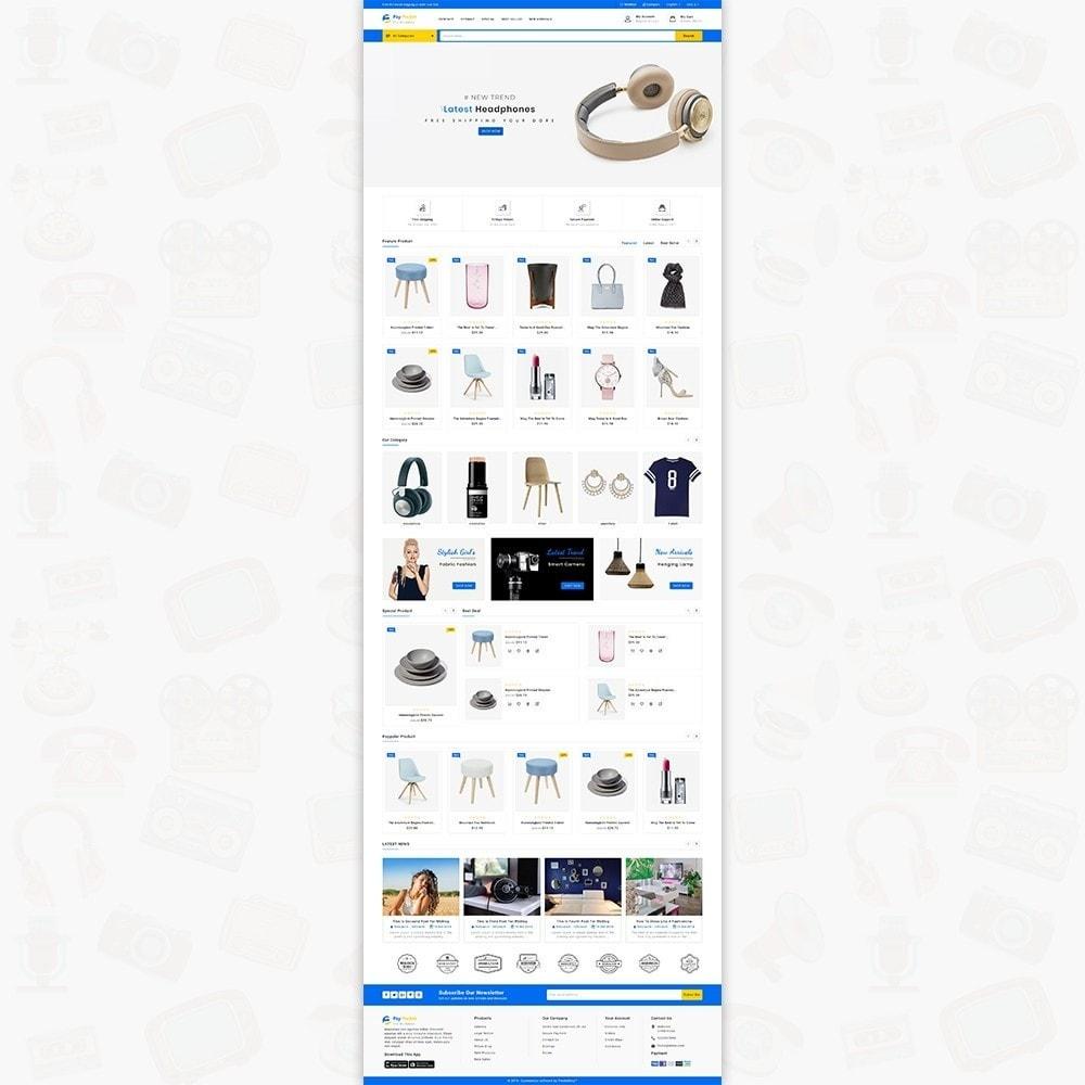 theme - Electronics & Computers - PayPocket - The Mega Ecommerce Store - 2