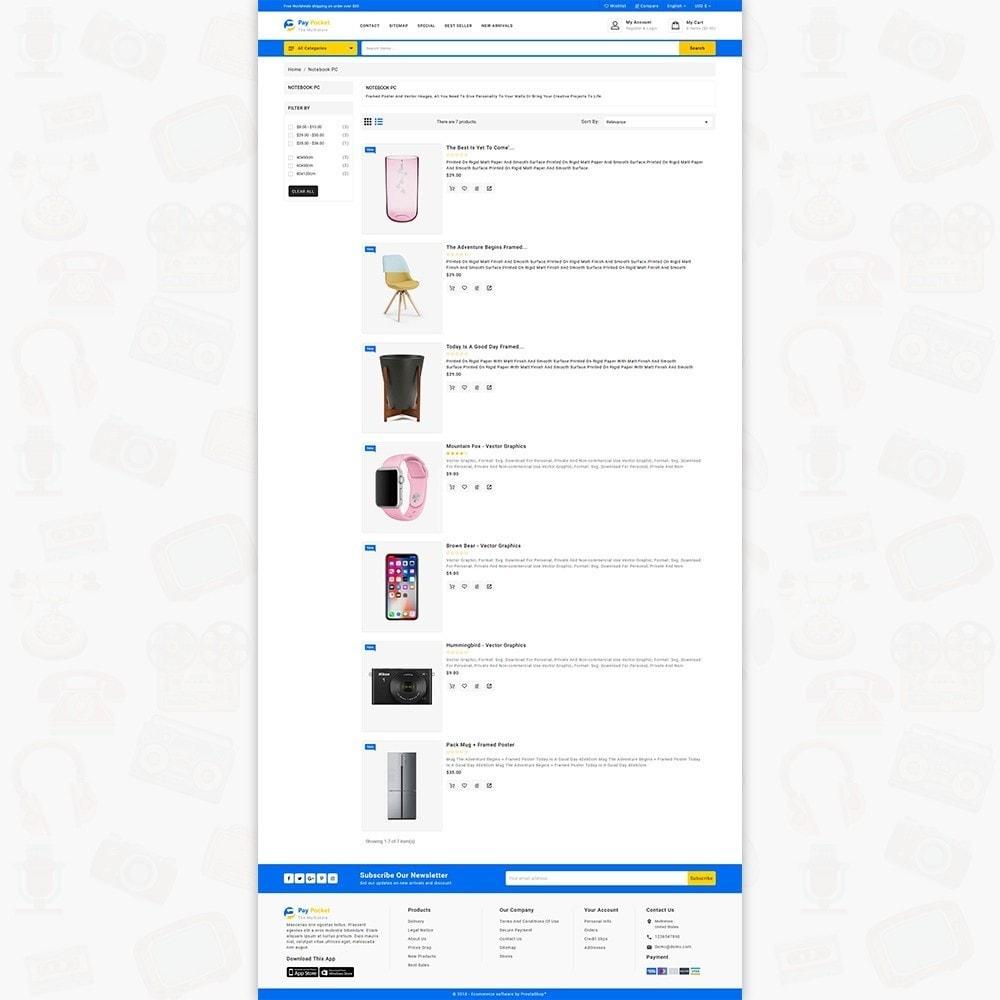 theme - Electronics & Computers - PayPocket - The Mega Ecommerce Store - 5