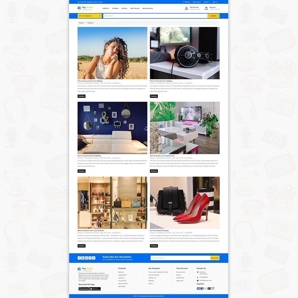 theme - Electronics & Computers - PayPocket - The Mega Ecommerce Store - 6