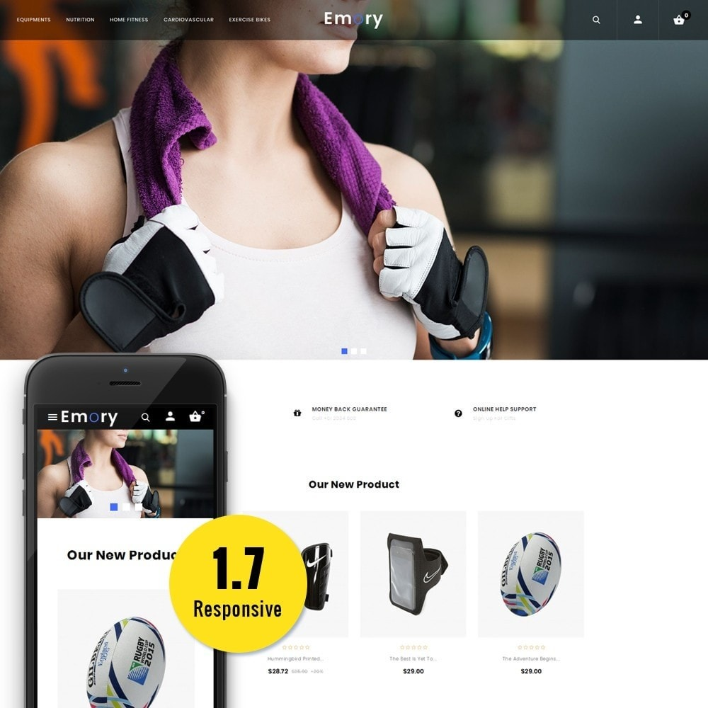 theme - Health & Beauty - Emory Store - 1