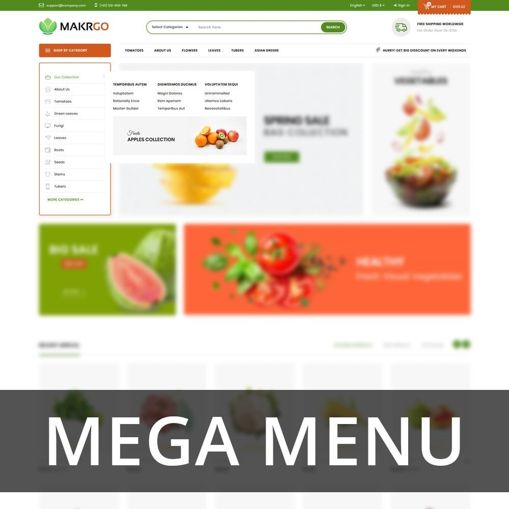 theme - Lebensmittel & Restaurants - Makgro - The Retailer Shop - 8