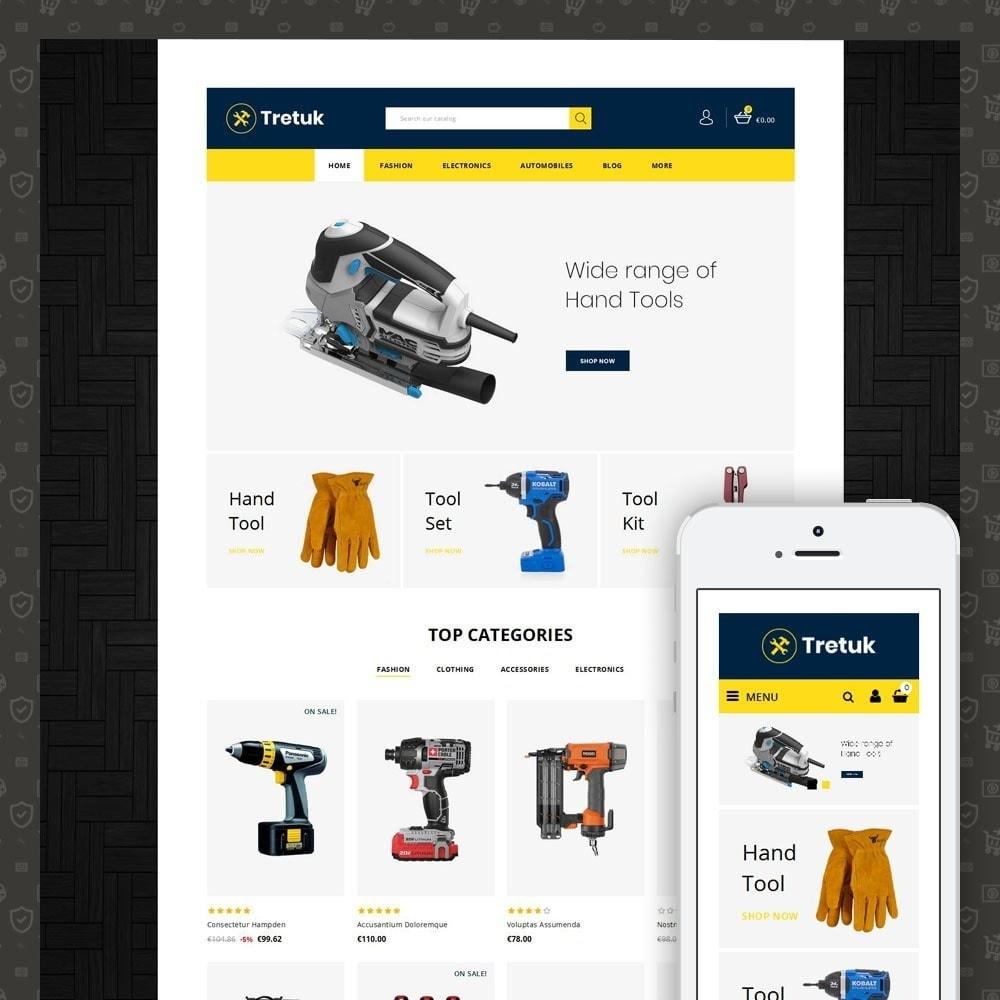 theme - Авто и Мото - Tretuk  Tools Store - 1
