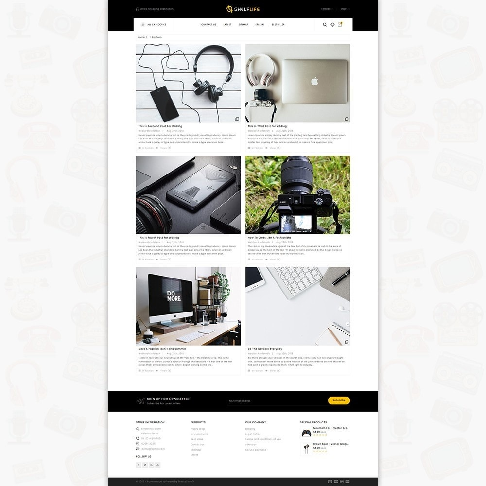theme - Elettronica & High Tech - Shelf Life-  Special Electronics Store - 6