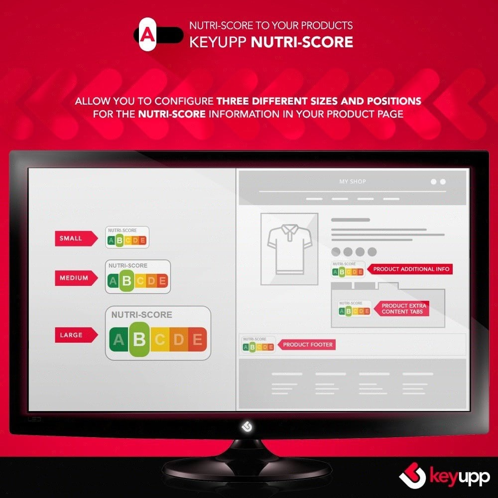 module - Eten & Restaurant - Nutri-Score iconography for products - 3
