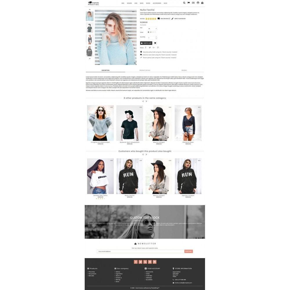 theme - Mode & Chaussures - Prestige Fashion Store - 3