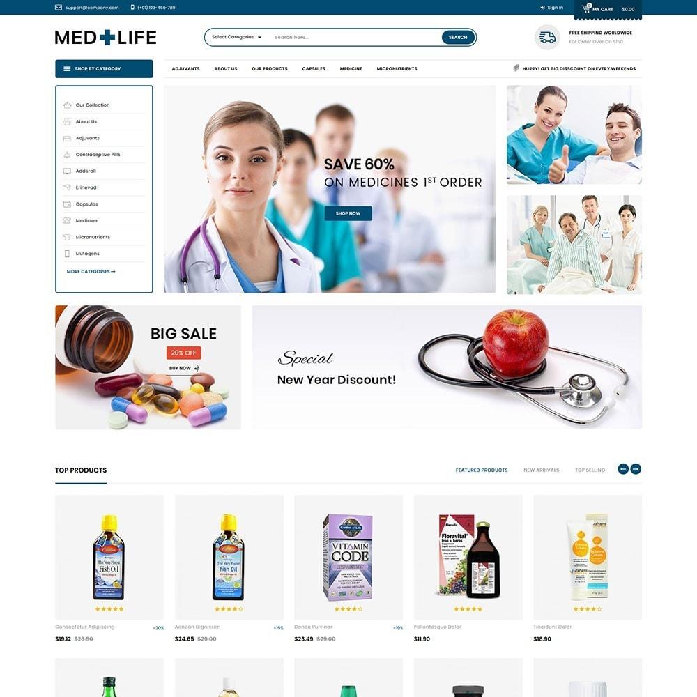 theme - Santé & Beauté - Medlife - The Medical Mega Store - 2