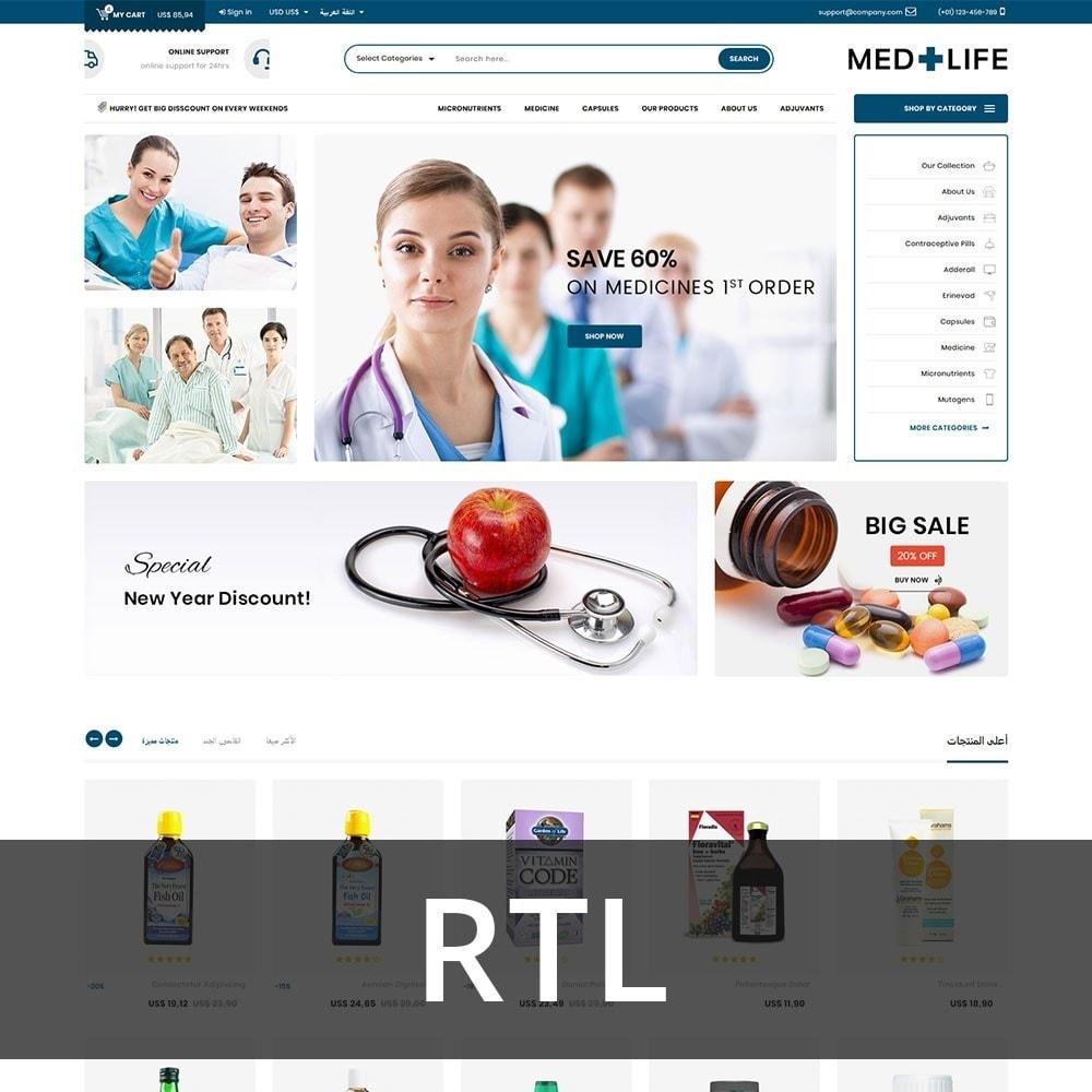 theme - Santé & Beauté - Medlife - The Medical Mega Store - 3