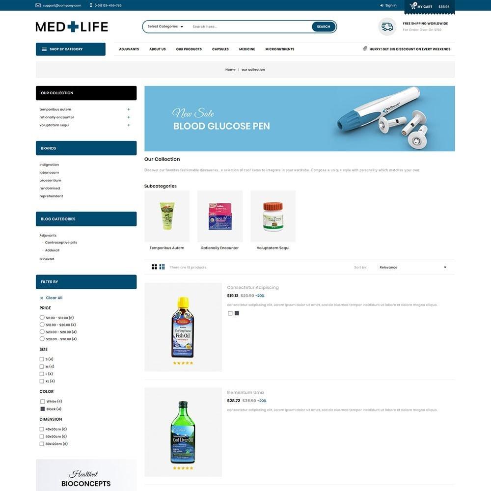 theme - Santé & Beauté - Medlife - The Medical Mega Store - 5