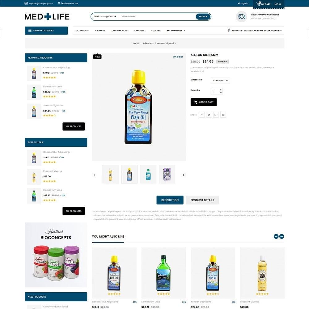 theme - Santé & Beauté - Medlife - The Medical Mega Store - 6