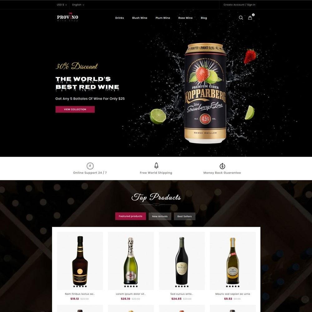 theme - Drink & Tobacco - Provino Wine Store - 2