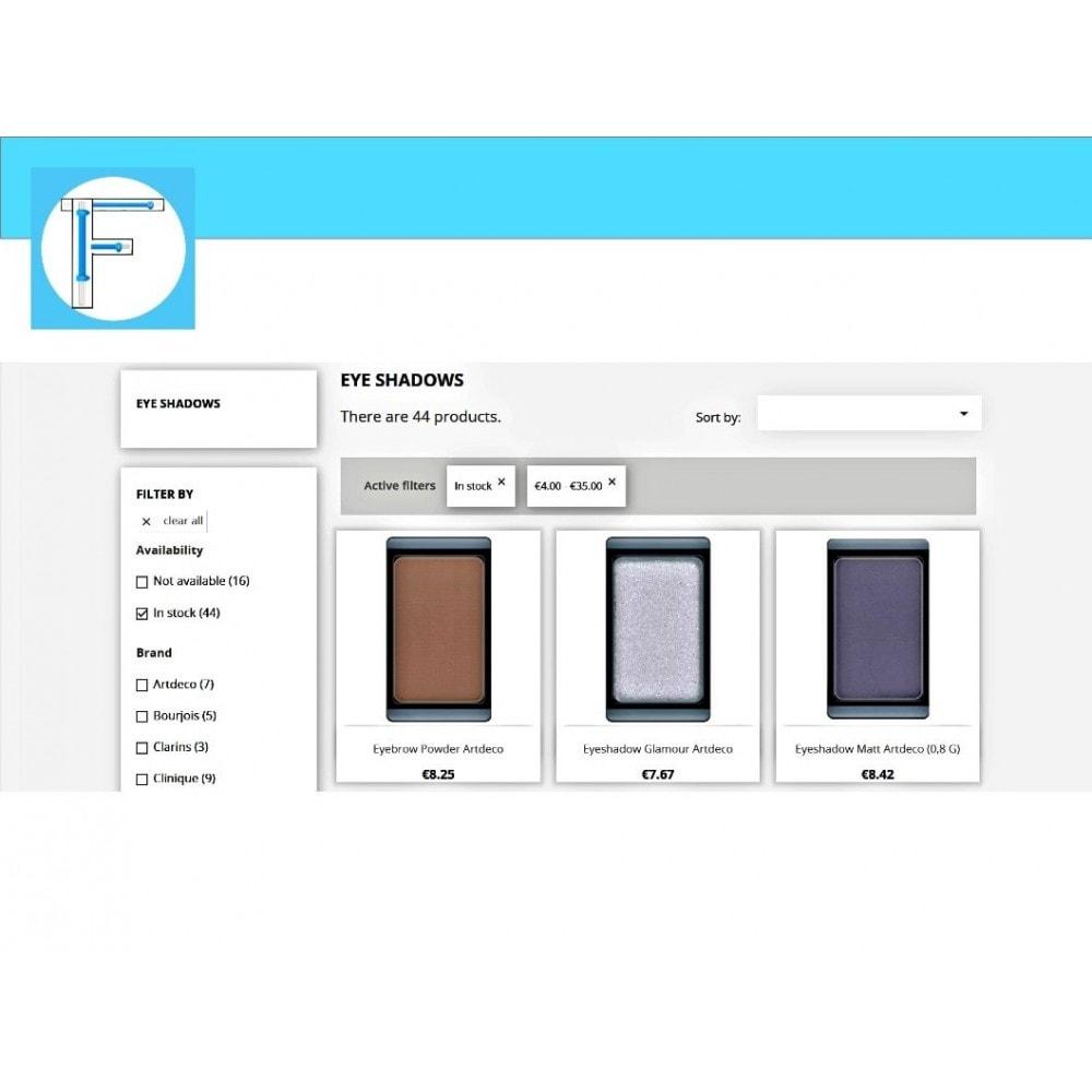 module - Búsquedas y Filtros - Slider range filters - Eshop Filters Price & Weight - 5