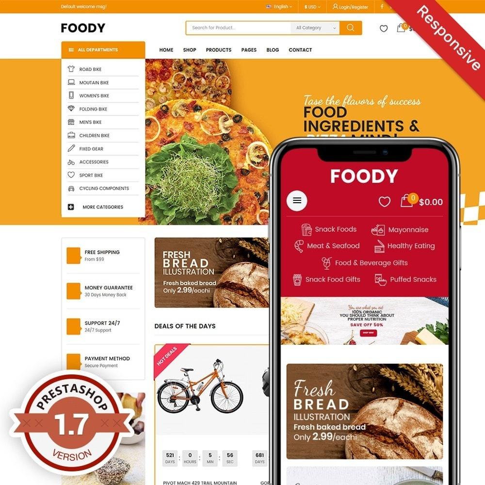 theme - Alimentation & Restauration - Foody - 1