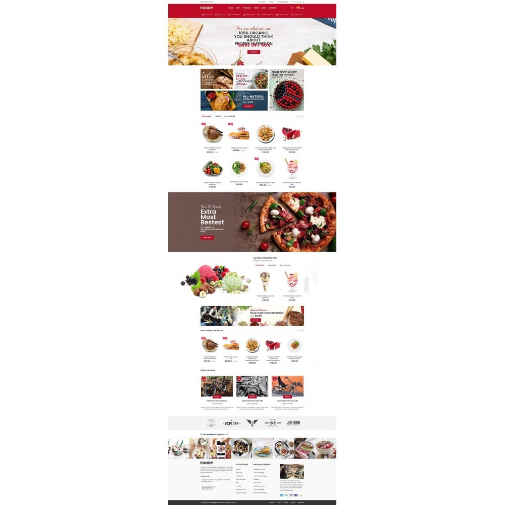 theme - Alimentation & Restauration - Foody - 7