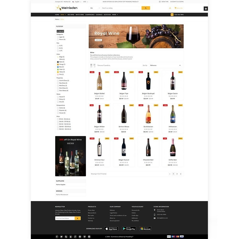 theme - Напитки и с сигареты - Wienledan - The Wine International Shop - 3