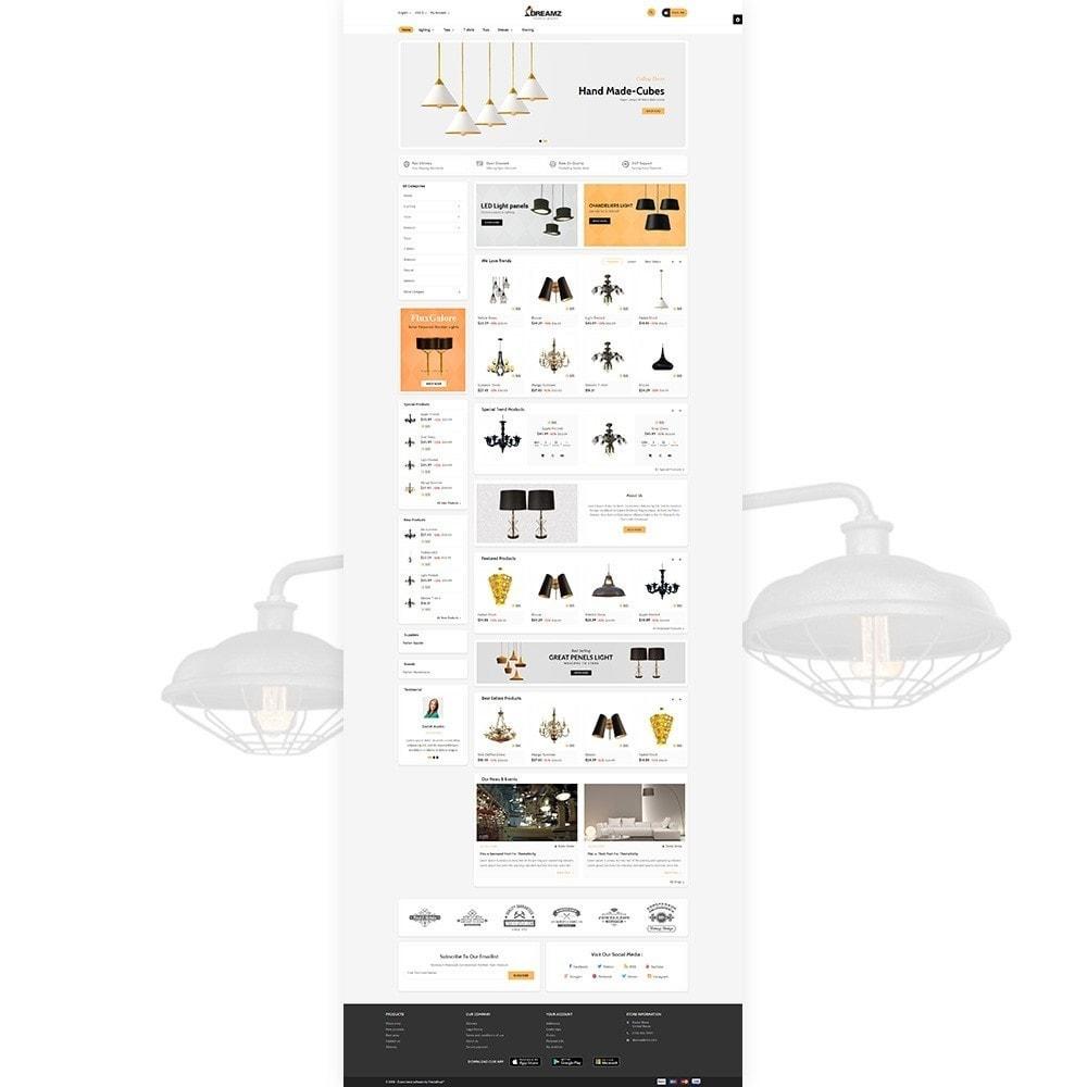theme - Home & Garden - Dreamz The Lighting Shop - 3