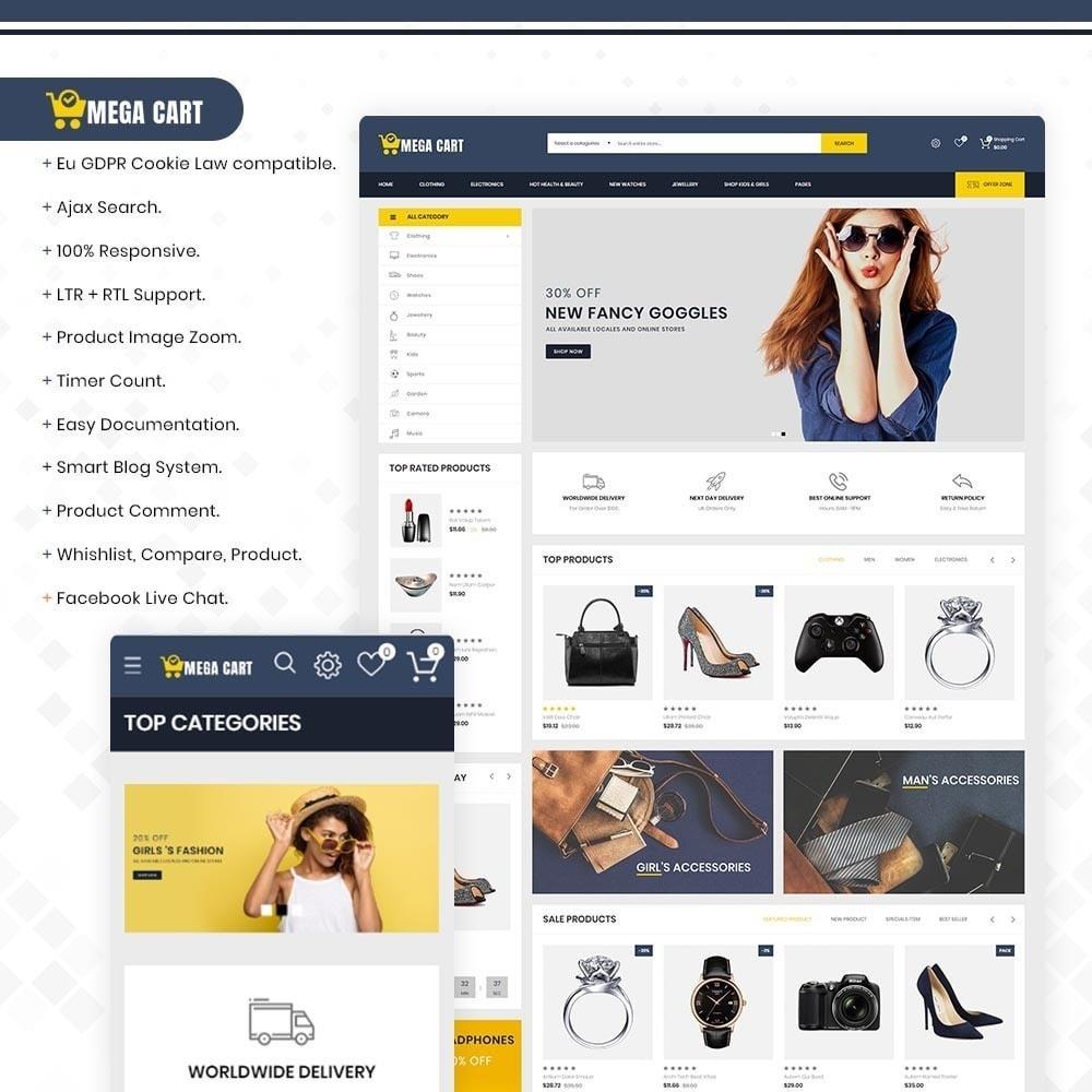 theme - Mode & Schuhe - Megacart– Multipurpose Fashion & Electronics Store - 1