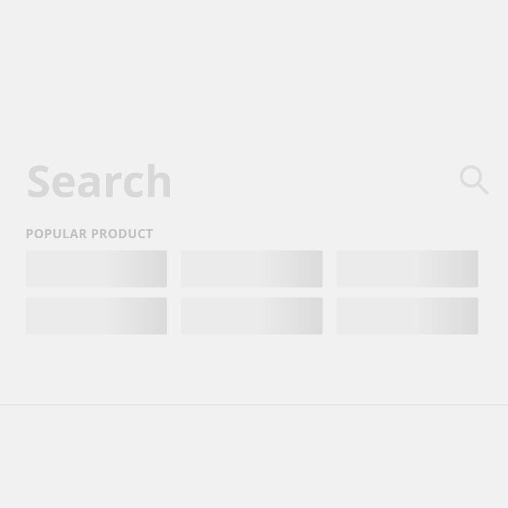 module - Поиск и фильтры - Поиск в полноэкранном режиме - 4