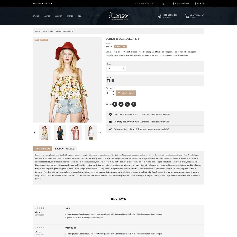 theme - Moda & Calçados - Luxury Minimal Fashion Shop - 5