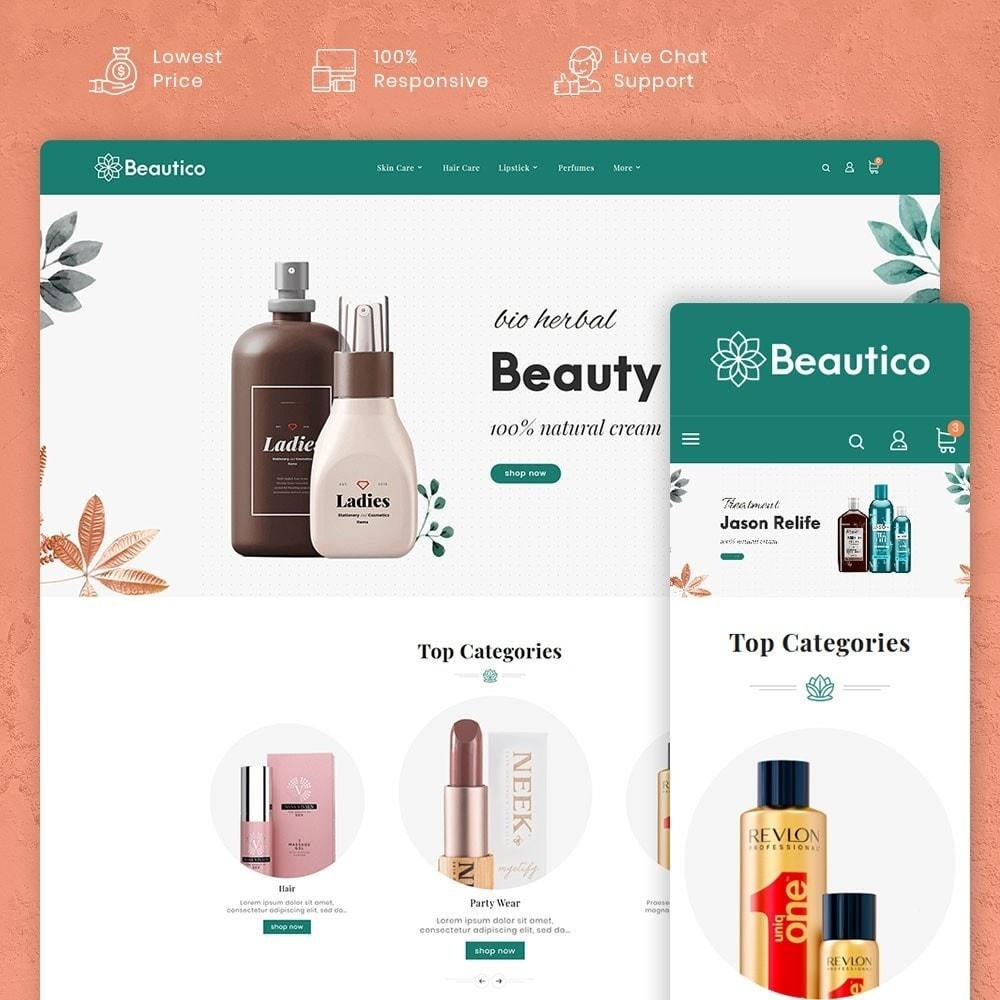 theme - Saúde & Beleza - Beautico Cosmetics - 1