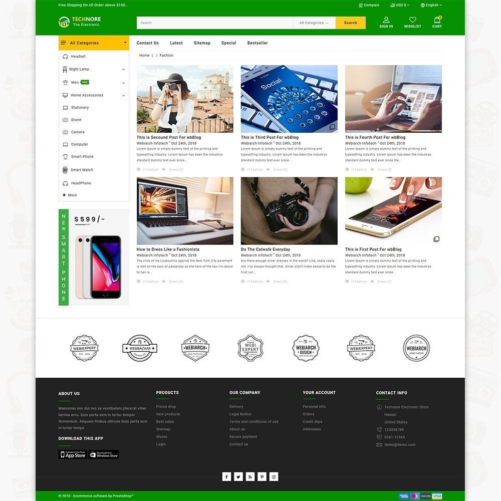 theme - Elektronika & High Tech - Technore - The Best Electronics Super Store - 6