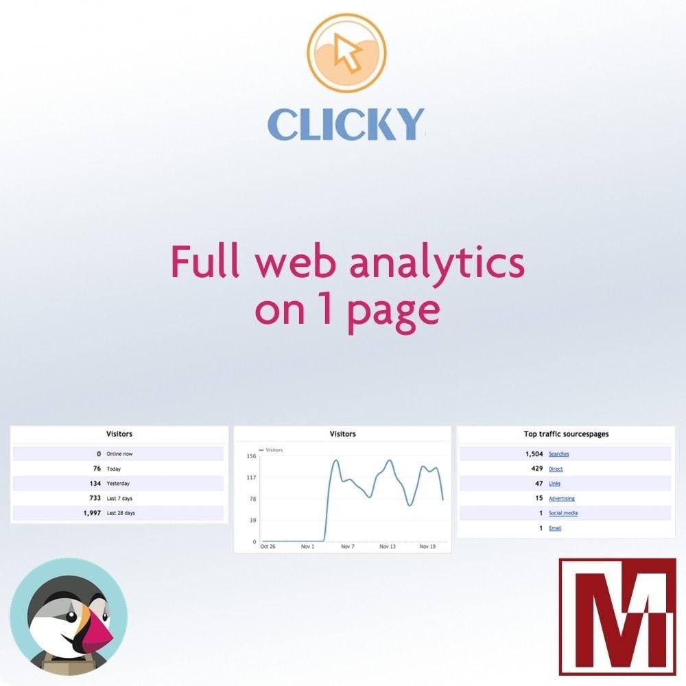 module - Informes y Estadísticas - GetClicky Ultra - 1
