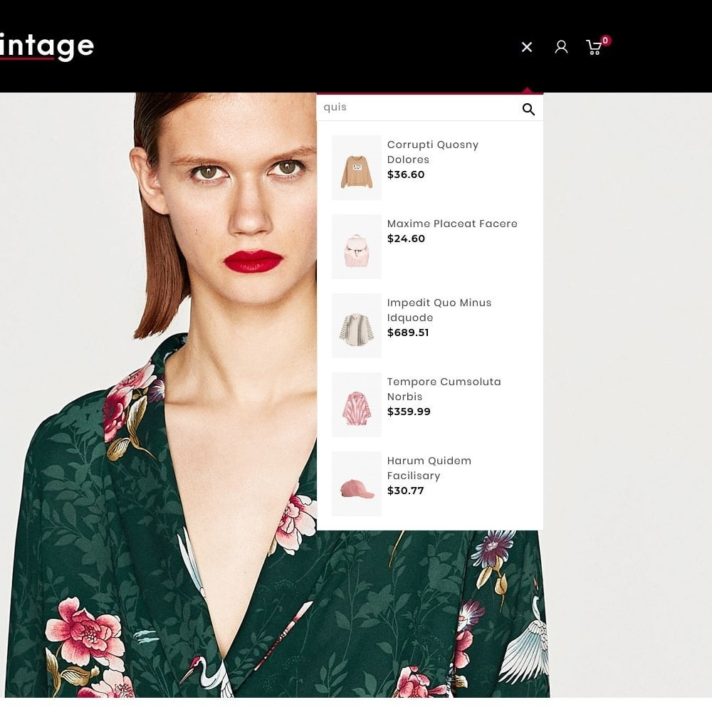 theme - Moda & Calzature - Vintage Fashion Apparels - 9