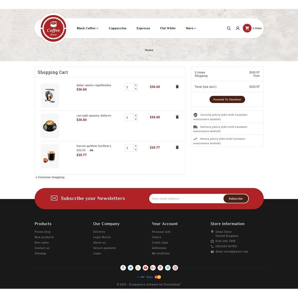theme - Bebidas y Tabaco - Coffee & Drinks Store - 6