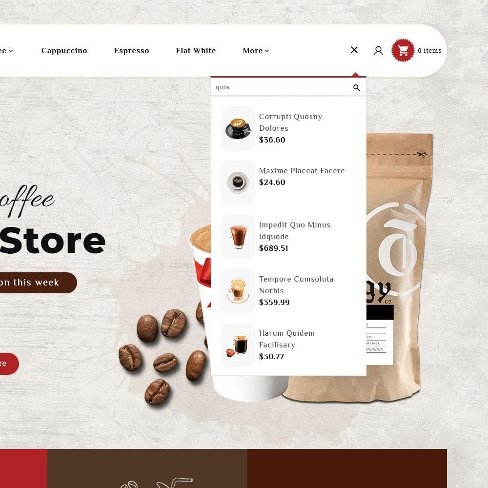 theme - Bebidas y Tabaco - Coffee & Drinks Store - 9