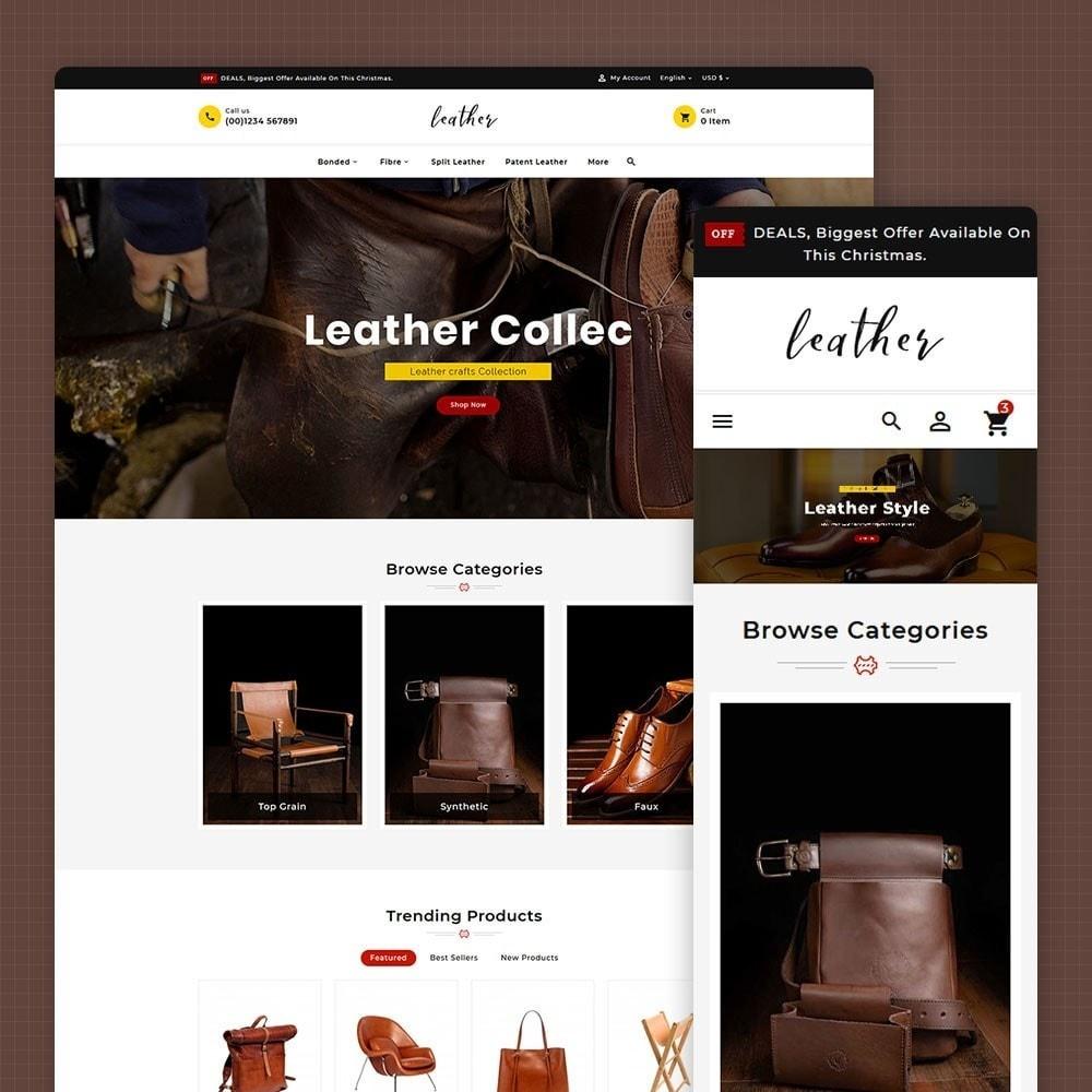 theme - Fashion & Shoes - Leather Smith & Art - 1