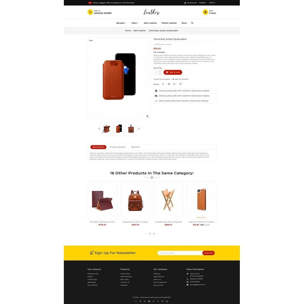theme - Fashion & Shoes - Leather Smith & Art - 5