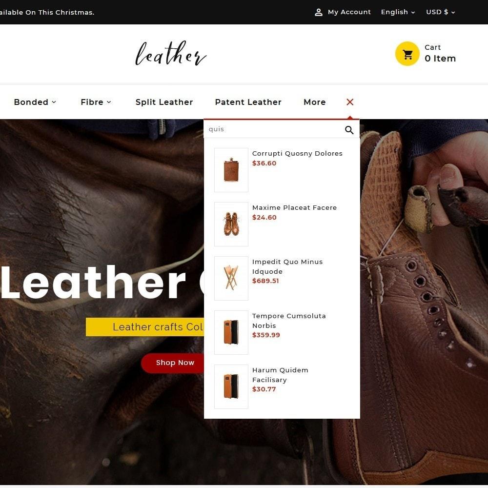 theme - Мода и обувь - Leather Smith & Art - 9