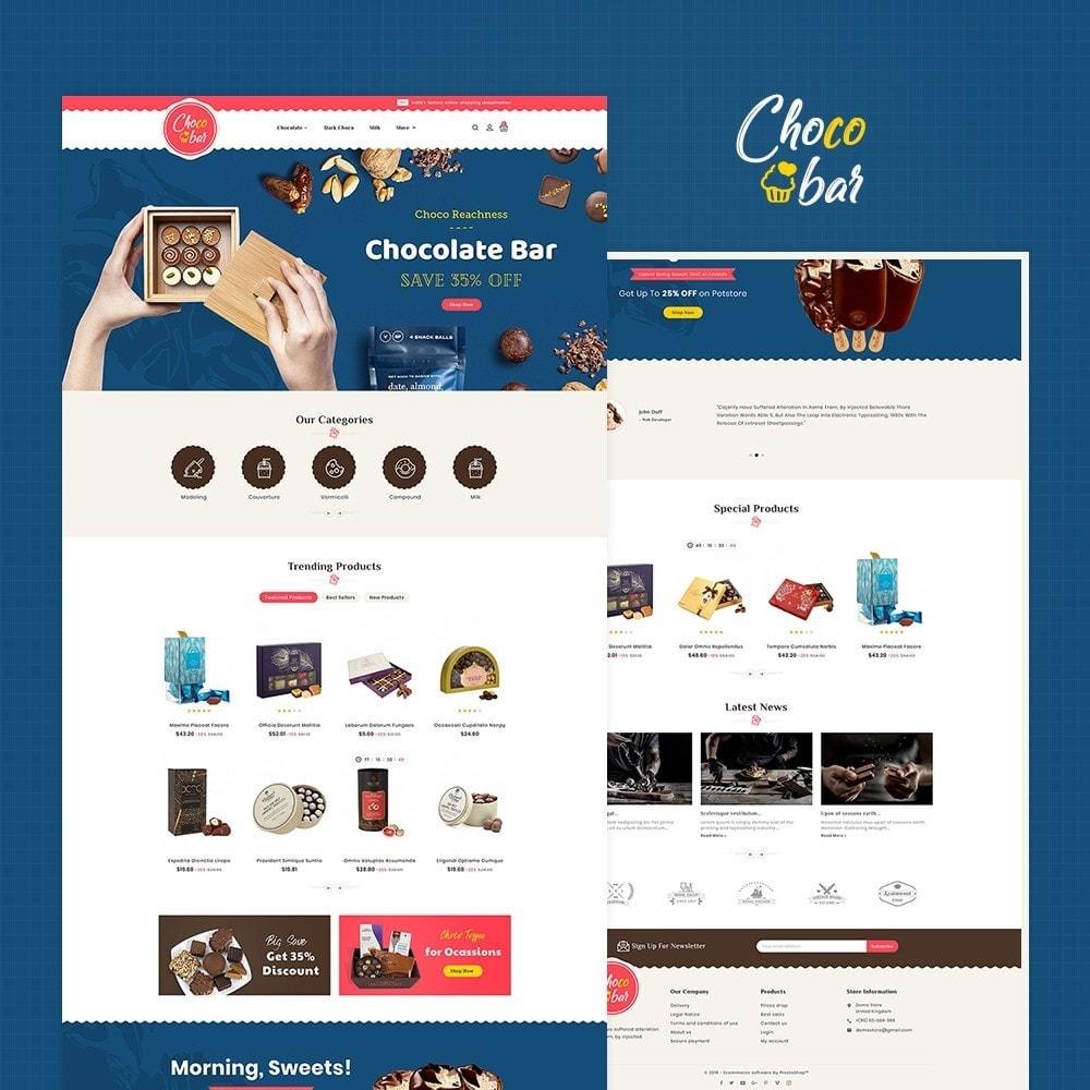 theme - Подарки, Цветы и праздничные товары - Chocobar & Sweets - 2